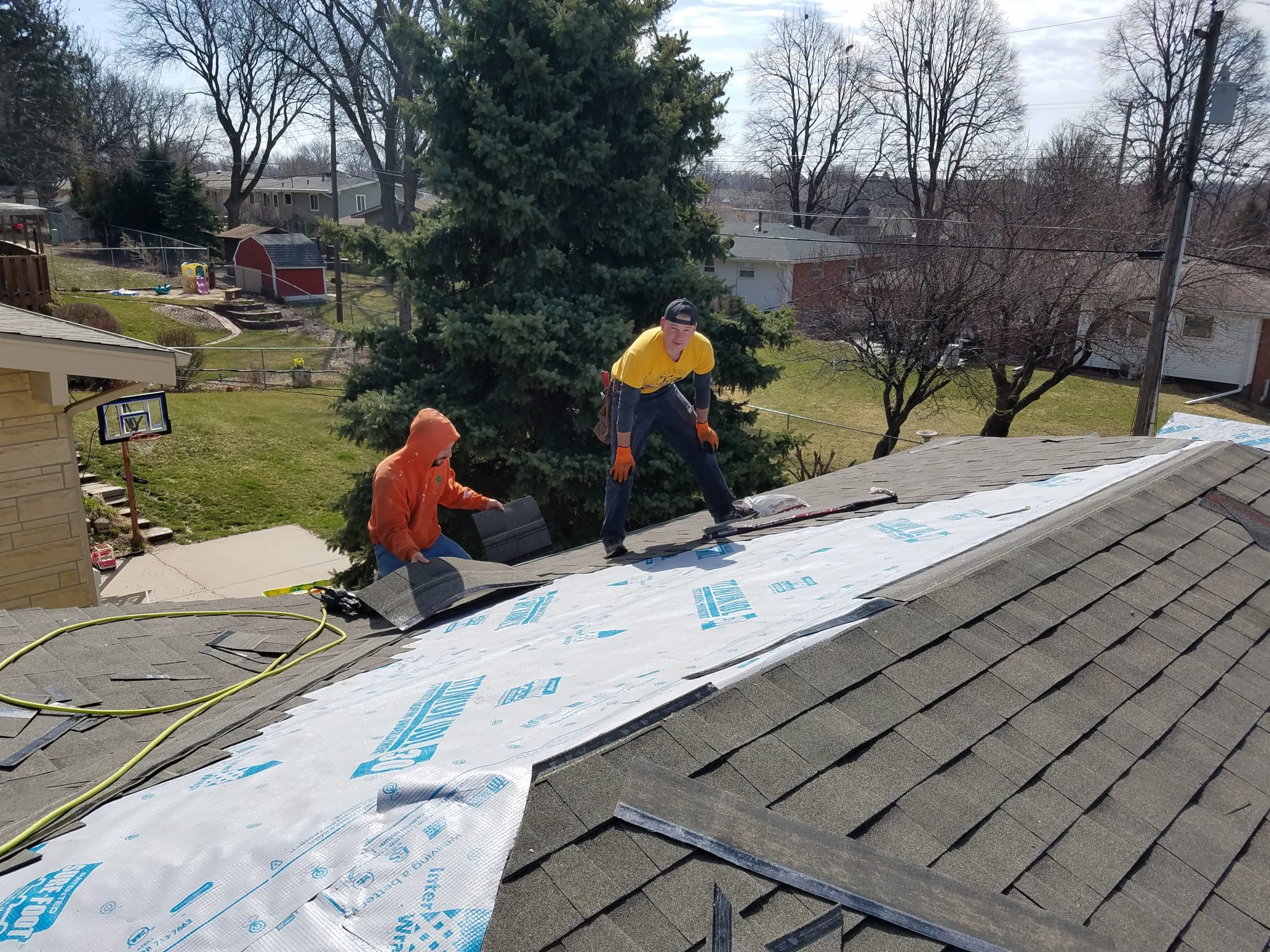 Roof Shingling Project