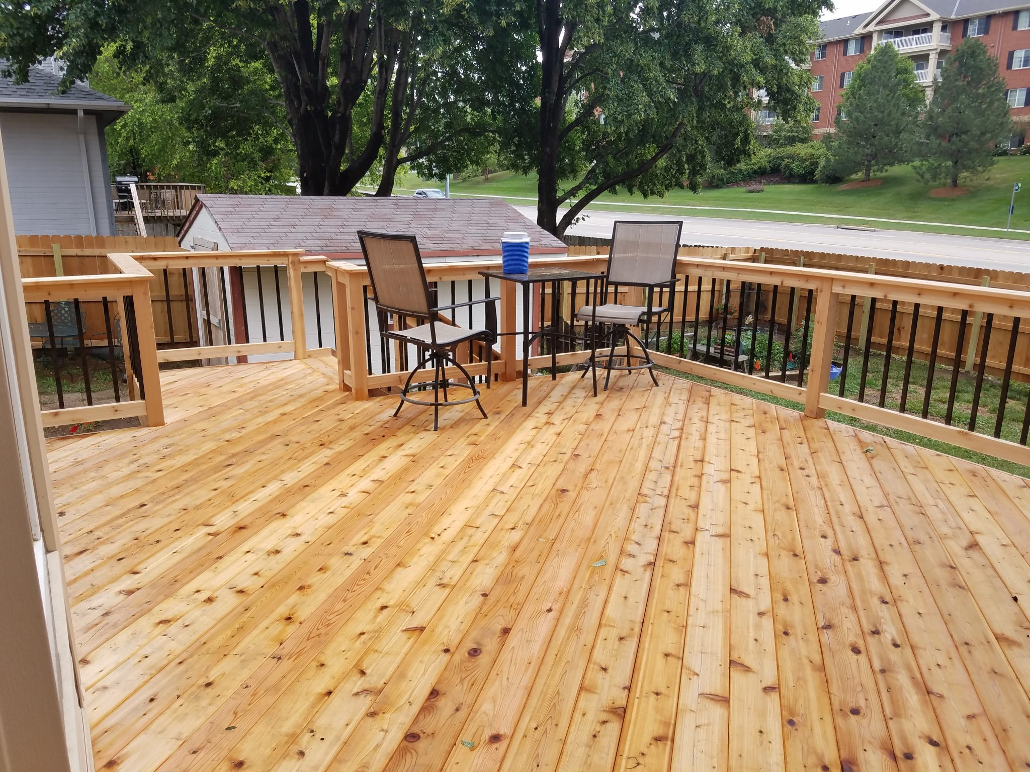 Rebuilding New Deck