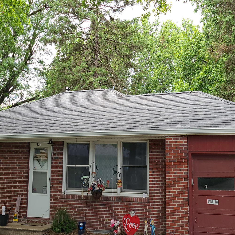 New Roof & Gutters