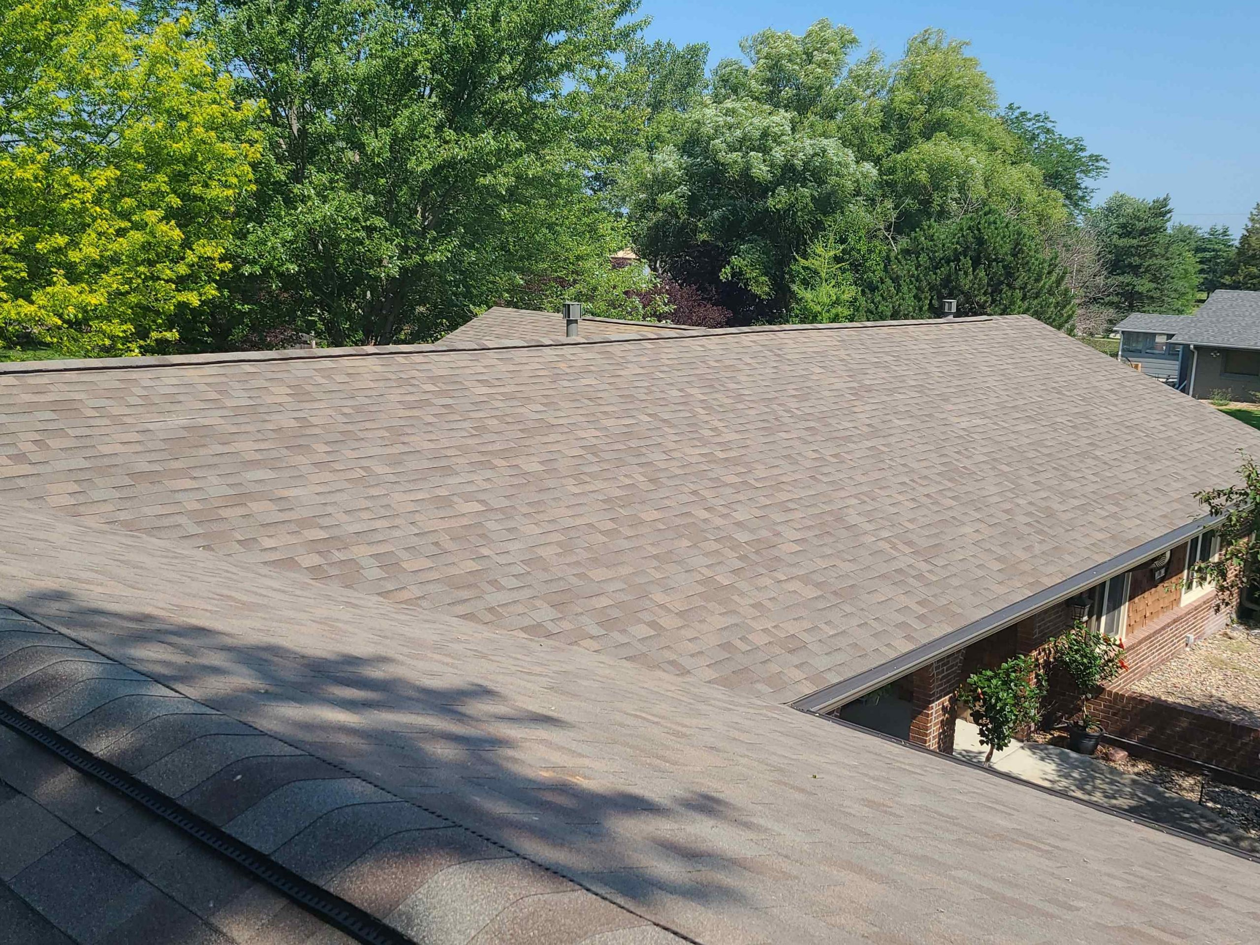 New Roof, Gutters, and Gutter Toppers